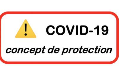 COVID-19 Concept de protection du 05 nov. 2020