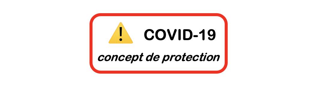 COVID-19 Concept de protection du 19 avril 2021